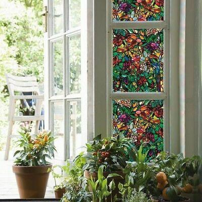 90cm x 1m up to 15m d-c-fix TULIA window sticky back plastic vinyl wrap film