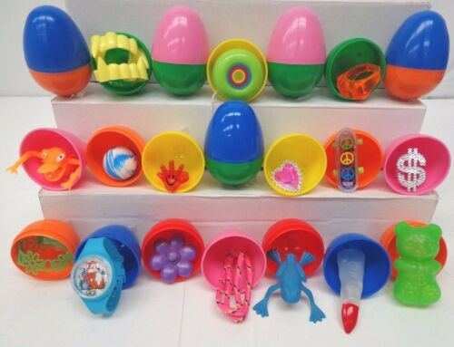 500 Assorted High Quality Premium Toy Filled Easter Eggs