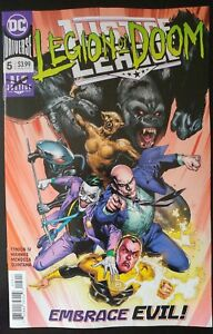 JUSTICE-LEAGUE-5a-2018-DC-Universe-Comics-VF-NM-Book