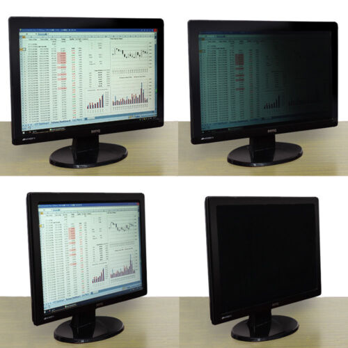 """22/"""" 16//10 Anti-Spy Film Privacy Protective Screen Home For PC Computer Monitor"""