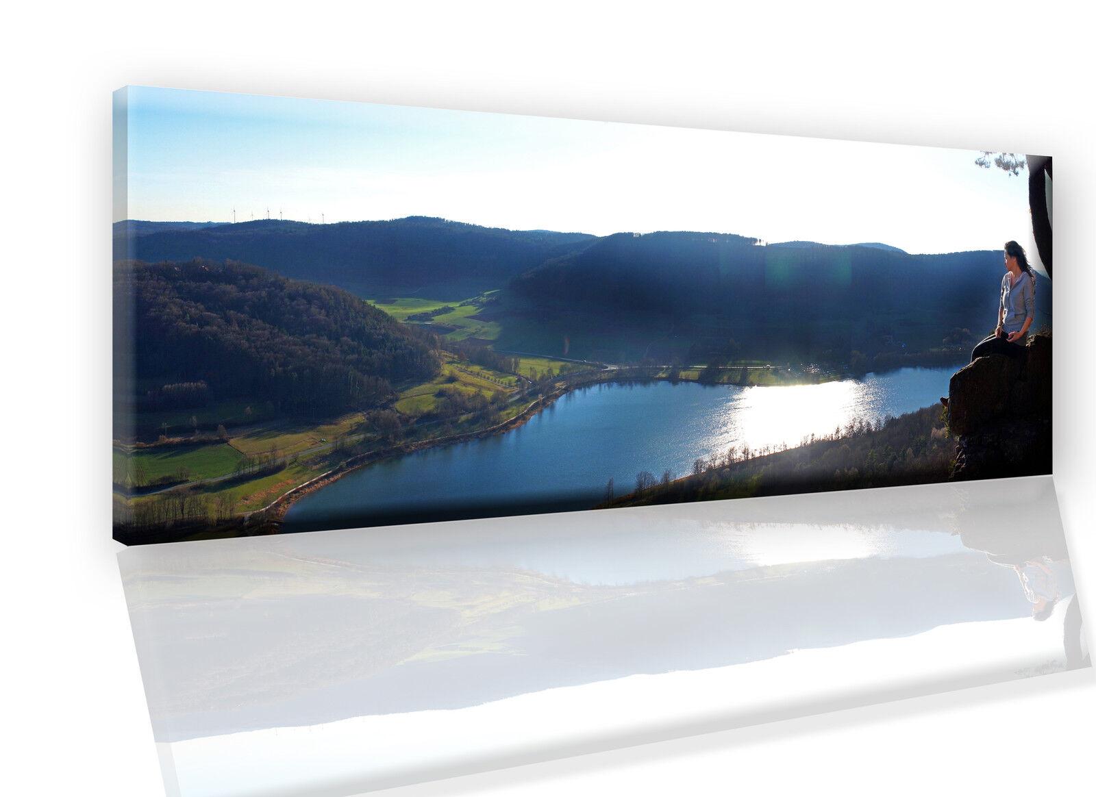 Ihr Bild Foto Motiv Bilder auf Leinwand Keilrahmen Panorama bis 220 cm  Deko