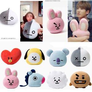 KPOP-BTS-BT21-Stuffed-Plush-Toy-Pillow-Doll-Cushion-TATA-SHOOKY-RJ-KOYA-CHIMMY