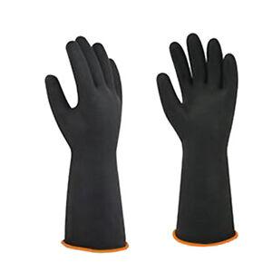 Extra-lange-55cm-Latex-Gummi-Handschuhe-Arbeitssicherheit-Gummihandschuhe