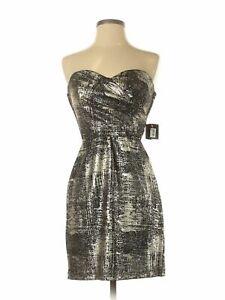NWT-Teeze-Me-Women-Gold-Cocktail-Dress-5