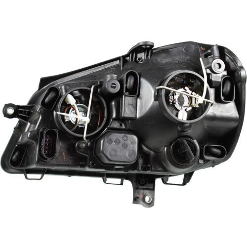 05-09 schwarz H7+H1 inkl Motoren Scheinwerfer Set Satz VW Polo 9N3 Bj