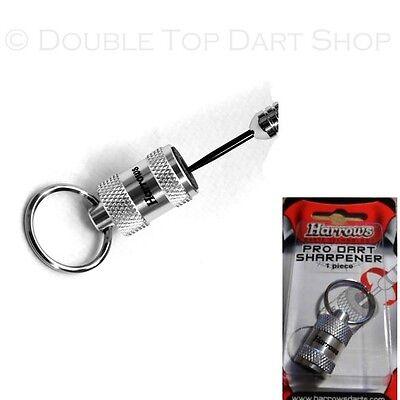 Harrows Pro Keyring Dart Sharpener - Stone Dart Points Sharpener