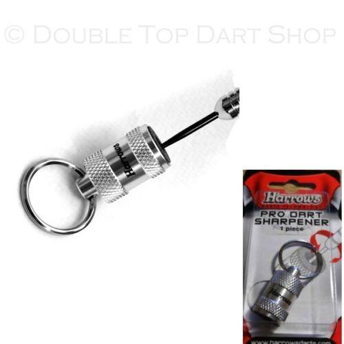 Harrows Pro Keyring Dart Sharpener Stone Dart Points Sharpener