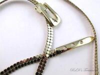 Vintage nos Whiting & Davis Ladies Gold Mesh Belt 33 Long 3/8 Wide