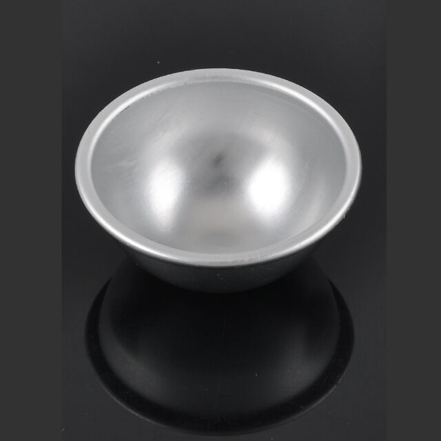 2PC Sell 3D Aluminum Ball Sphere Bath Bomb Cake Pan Tin Baking Mold Pastry Mould