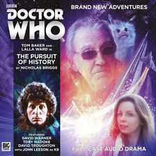 DOCTOR WHO Big Finish Audio CD Tom Baker 4th Doctor #5.7 THE PURSUIT OF HISTORY