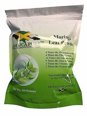 Moringa  oleifera Leaf Powder (16 Ozs)