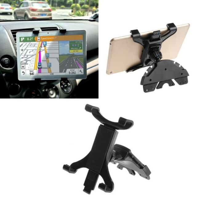 Car CD Slot Mount Holder Stand For ipad 7 ~ 11 inch Tablet PC Samsung Galaxy Tab