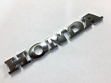New Honda Accord Civic Odyssey Prelude Del Sol CRX CRV Rear Emblem Badge Decal