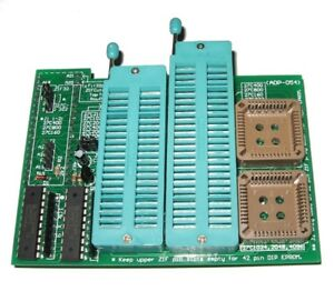 Details about ADP-054 16BIT EEPROM 40/42 PIN ZIF ADAPTER V4 0 GQ-3X | GQ-4X  | WILLEM | PLCC44