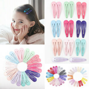 Candy-Color-Children-Snap-Hair-Clips-Barrettes-Girls-Cute-Hairpin-Hairgrip-Acces