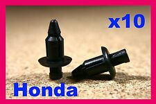 10 Honda Motorcycle Moto Bicicleta Carenado paneles Trim Push Fit Remache Clips