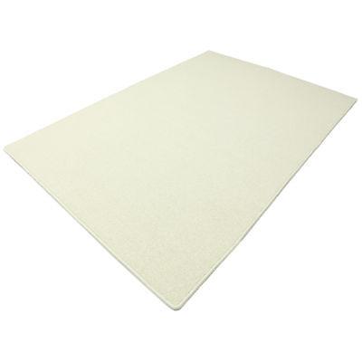 Tango Wollweiss HEVO ® Berber Kettel Teppich 140x200 cm 100/% Wolle