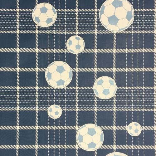 EUR 3,75//qm Tapete Rasch Textil Fußball Blau Cristina Masi  2249 Fussball
