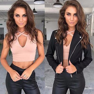 2017 Sexy Women Tops Bustier Bra Vest Crop Top Bralette Sleeveless Blouse Tank