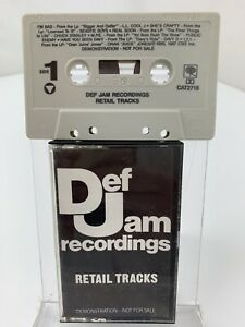 Def Jam Recordings Retail Tracks (Cassette) Promo