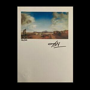 Salvador Dali Original Hand Signed Print COA Certificate Of Authenticity RARE