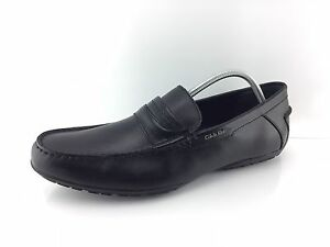 Calvin Klein Men's Black Dress Shoes 13
