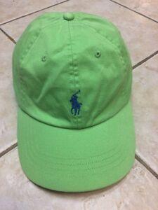 68cff7473b0 Polo Ralph Lauren Men Adjustable Classic Sports Cap Hat Green w Blue ...