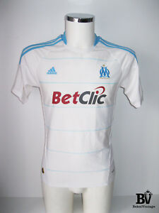 official photos 6d109 ce332 Details about ADIDAS OLYMPIQUE MARSEILLE HOME FOOTBALL JERSEY MAGLIA  2010-2011 FRANCE SIZE M