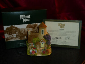LILLIPUT-LANE-Gold-Top-L2495-Membership-2002-2003-Model-House-Boxed-deeds