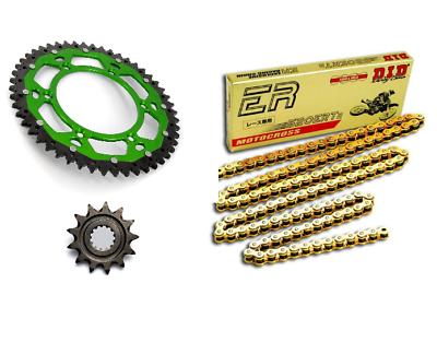 15X43 Kawasaki Z 750 2004 à 2013 Couronne+Pignon+Chaine Kit Chaîne O/'ring