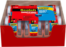 Scotch Tape Heavy Duty Shipping Packaging Tape 188 Inches X 800 Inches
