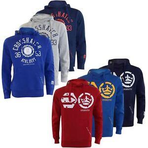 Crosshatch-Mens-Pullover-Classic-Printed-Sweatshirts-Hoodies