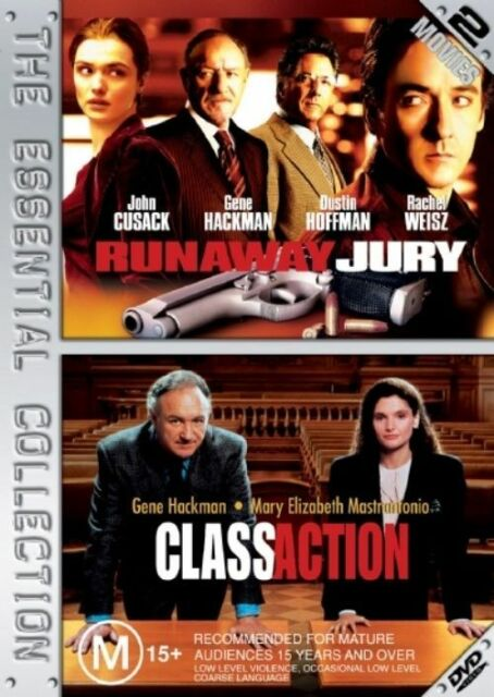 Class Action  / Runaway Jury (DVD, 2006, 2-Disc Set) The Essential Collection