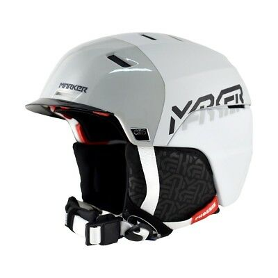 Marker Phoenix Otis Black/White/Grey Adult Helmet