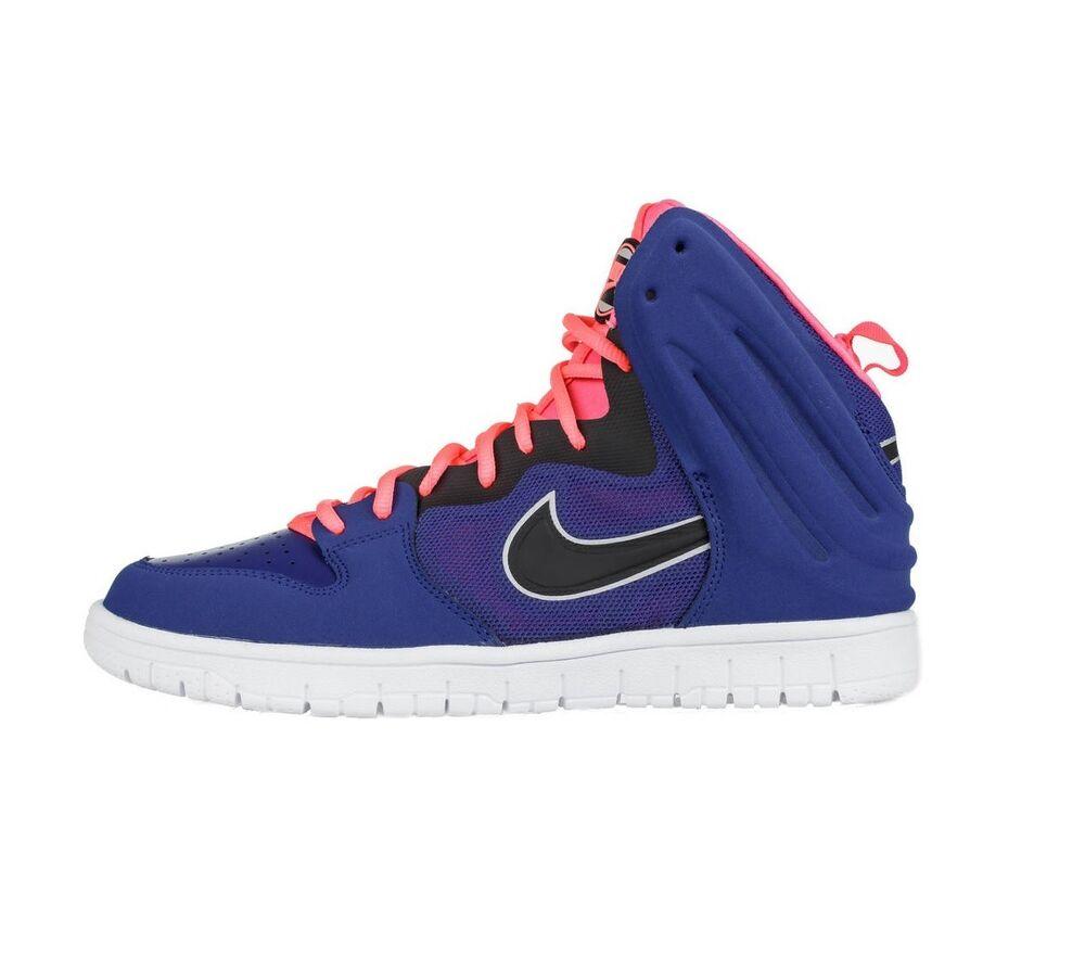 Nike Dunk GRATUIT montant TENNIS Hommes Bottes taille 8 UE 42,5 BLEU ROI - Chaussures de sport pour hommes et femmes