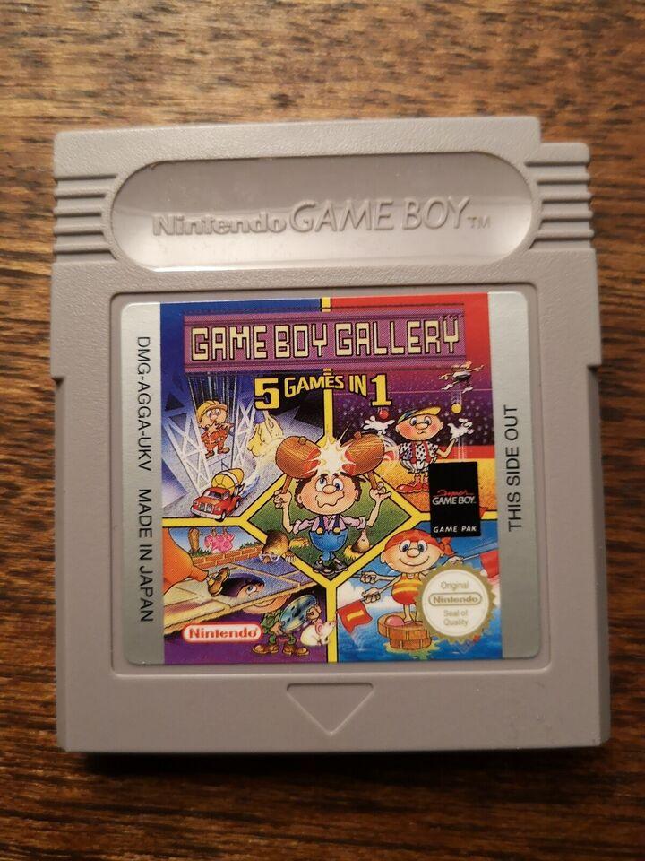 Gallery 5 i 1, Gameboy, sport