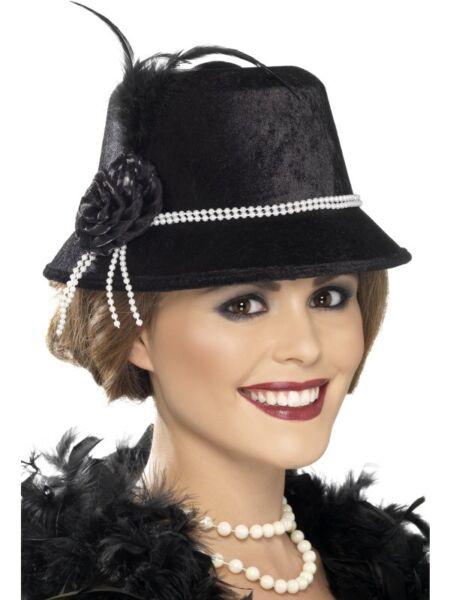 20 Anni Charleston Cappello Cappello Da Donna 20ies Cappello Da Donna Nero Adottare La Tecnologia Avanzata