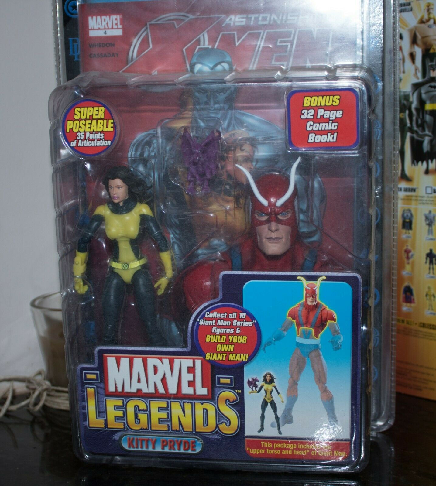 Marvel Legends Giant Giant Giant Man Series Kitty Pryde 14060f