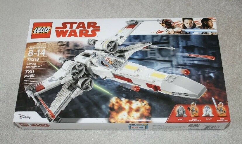 NEW LEGO Star Wars 75218 X-Wing Starfighter Factory Sealed