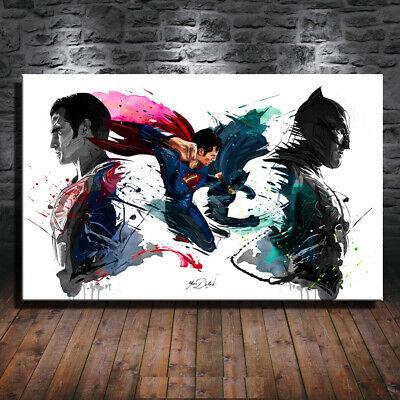 Original Art Print Oil Painting on Canvas,Abstract The Joker,Batman 18X24