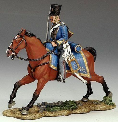 KING AND COUNTRY CRIMEAN RUSSIAN HUSSAR ENGAGING CRW020 CRW20