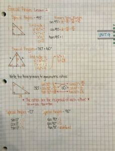 High School Notes (Grade 11 and 12)