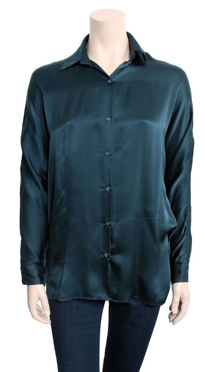 VINCE Silk Blouse (Größe S)