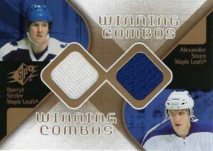 2006-07-SPX-WINNING-COMBOS-DARRYL-SITTLER-amp-ALEXANDER-STEEN-WC-DA