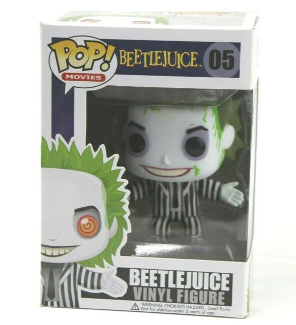 Funko POP Movies Beetlejuice Article Nº 2266 Chase Limited Edition