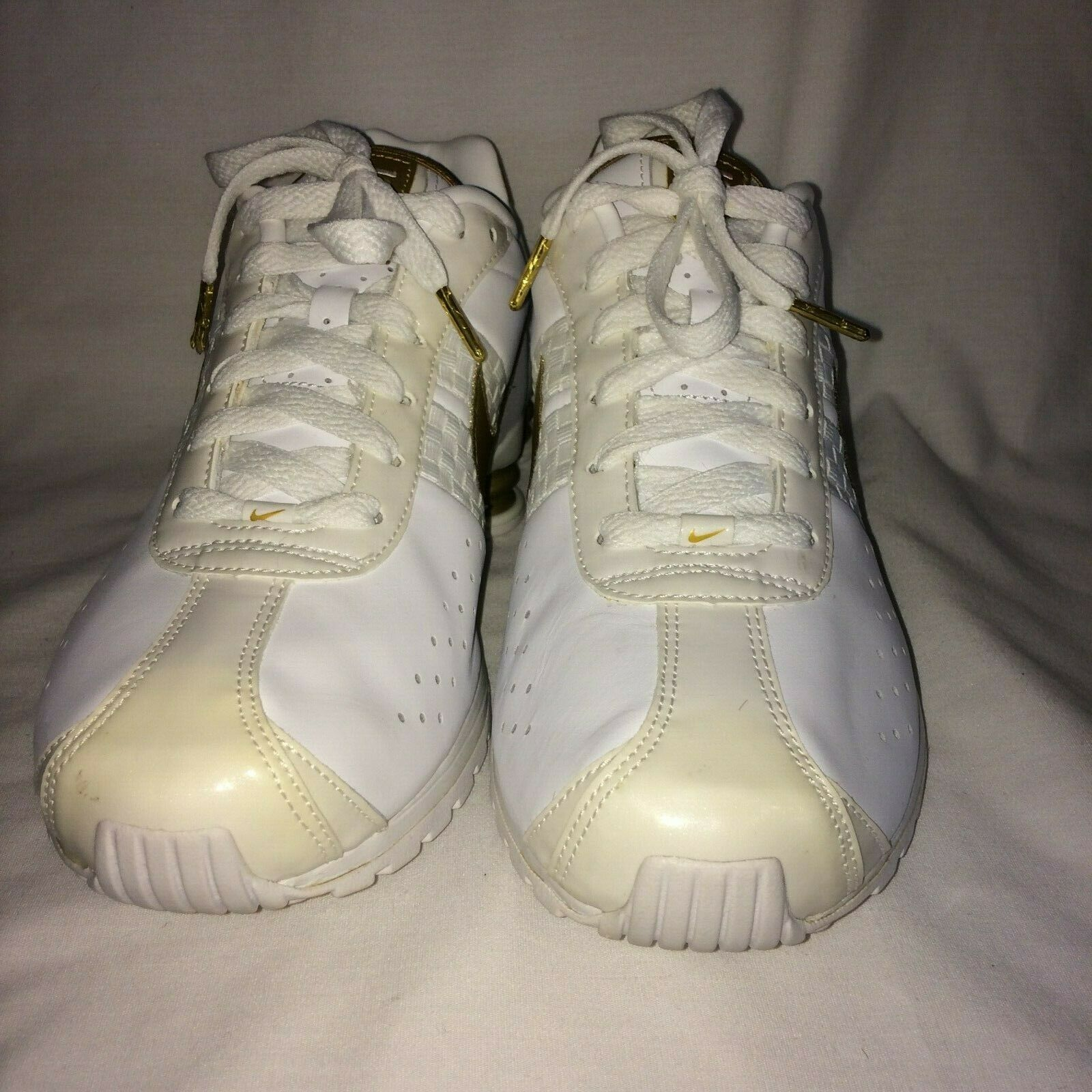 Nike14 Women's Size 11 Athletic  shoes White gold NWOT running