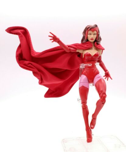 No-Figure Red Cape for Hasbro Marvel Legends Scarlet Witch