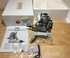 Saito FA-62a Ringed 4-Stroke Engine with Muffler, Tools NIB