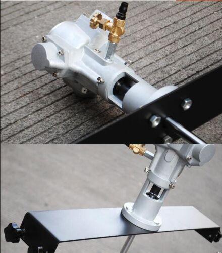 50gallon Pneumatic Mixer Horizontal Plate Rung Dope Tank Barrel Aluminum Alloy M