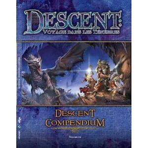 Jeu de societe Descent : Compendium Volume 1 - Voyage dans les tenebres